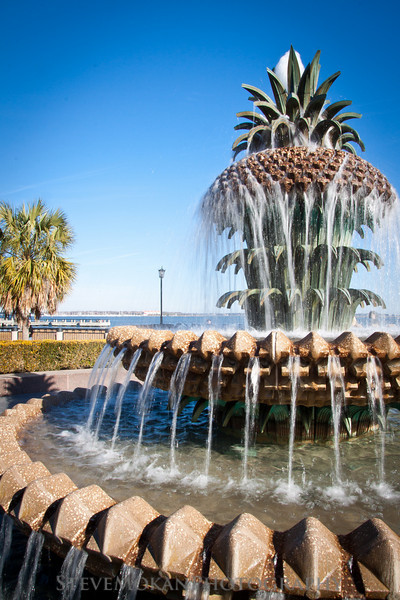 The first of a handful of pictures from the Pineapple Fountain in Charleston, SC.