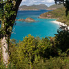 Another look down into Trunk Bay on the North Shore of St. John.