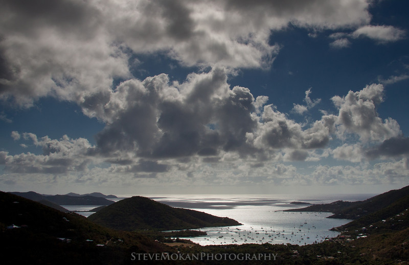 Another view into Coral Bay on St. John from high above on the Centerline Road.