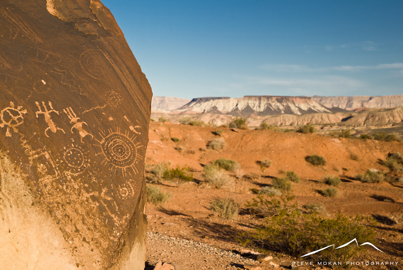 But even cooler were the petroglyphs on the rocks close to the trail head.  Who knows how many thousand years these have been around?