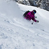 Yes, the snow was as deep and fun as it looks.
