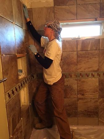 Tile Shower / Tub Surround, Fort Collins CO