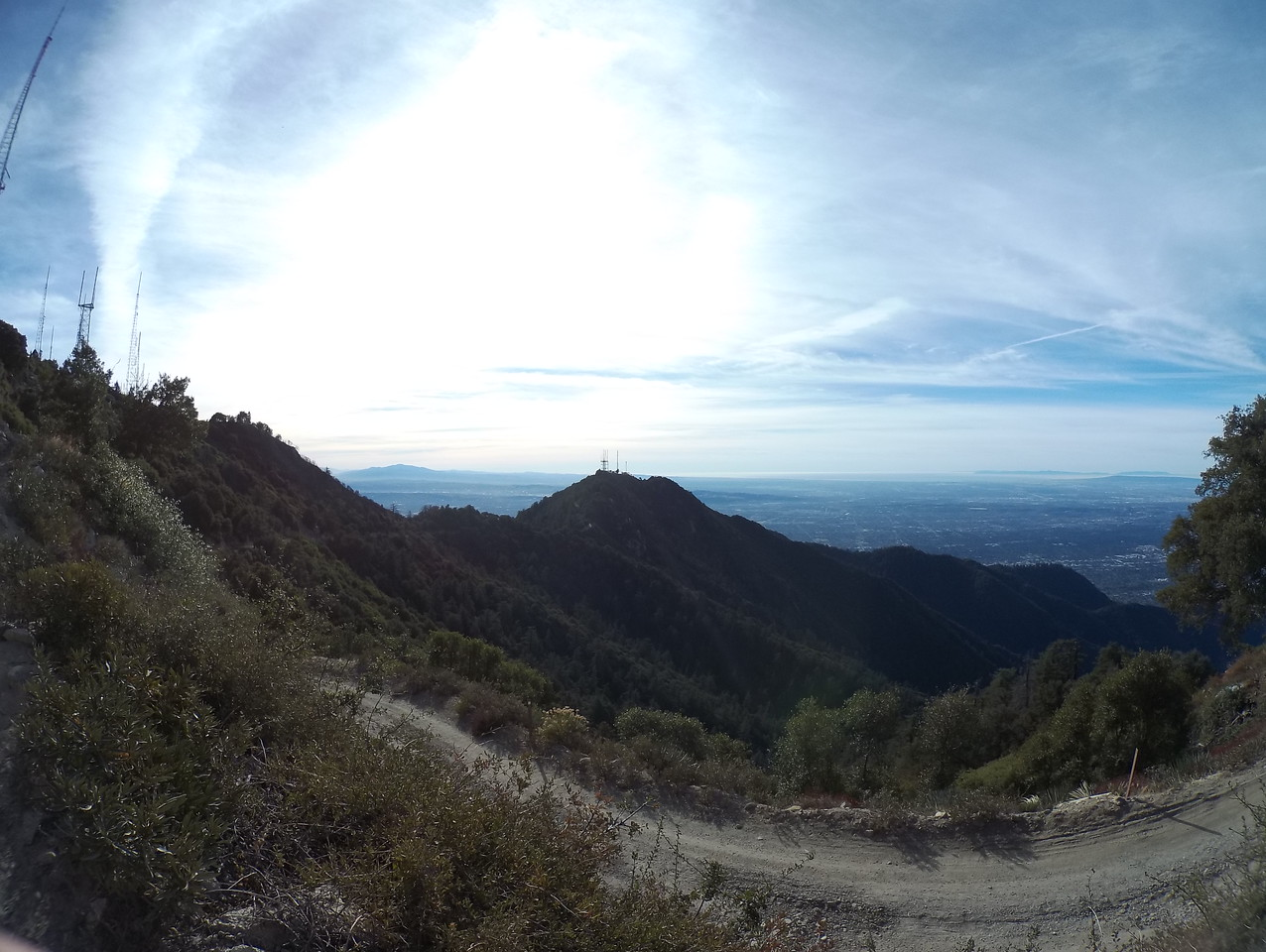 Summit Mt Wilson For my first time (NBD) and made some new trail buddies! Thx guys! 12-09-2017