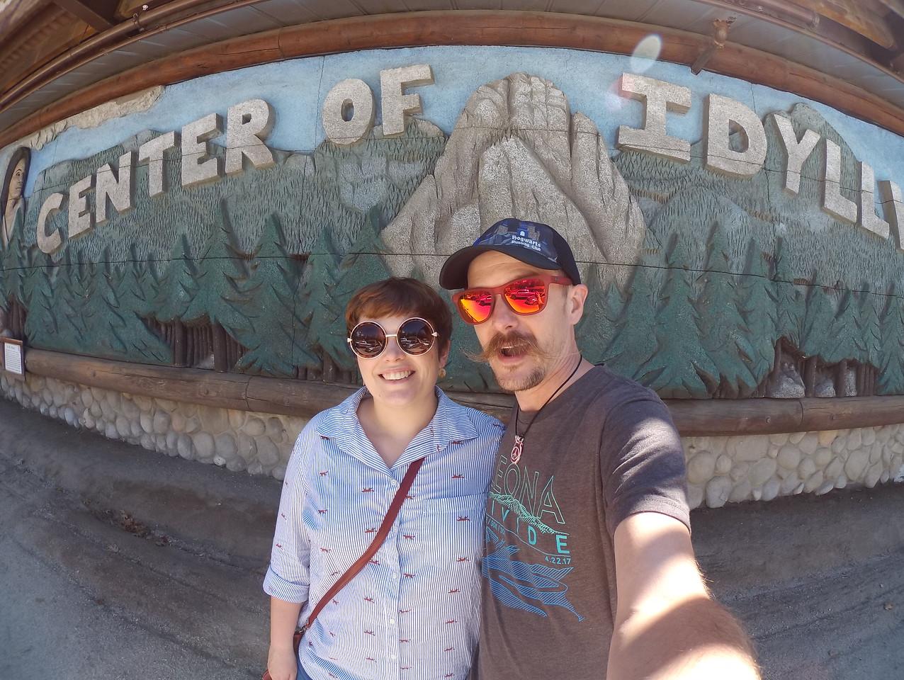Anniversary Weekend in Idyllwild, CA 09-16-2017