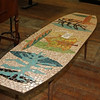 Mosaic Surfboard Table
