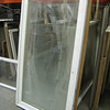 casement window with blinds: $65