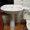 New pedestal sinks: $100