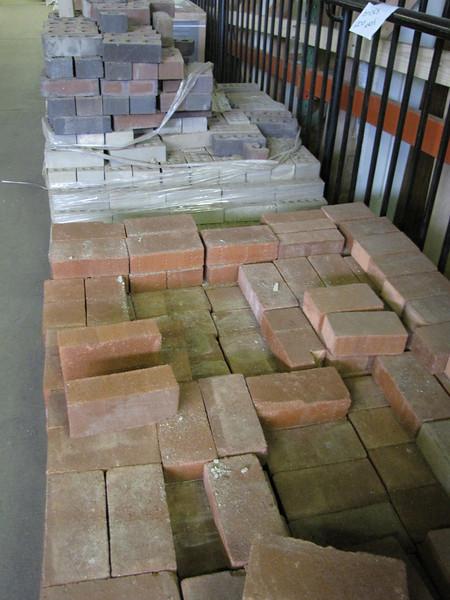 bricks: $0.20 each