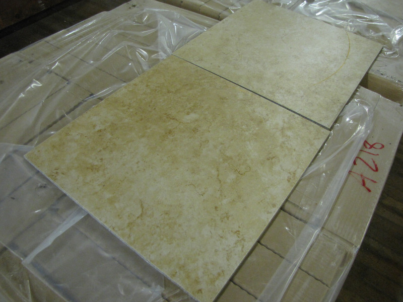 """new 18""""x18"""" ceramic tile, variety of colors: $1/sq ft ($18/box)"""