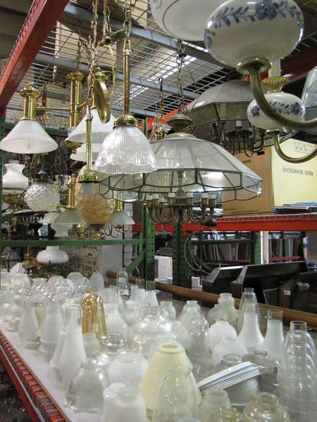 variety of glass globes: $1-$5