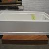 "Standard 60"" fiberglass RH bathtubs - $65"