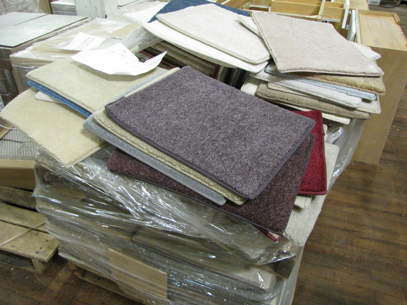 carpet rectangles: $0.75 each