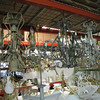 curly chandeliers: $75 each