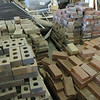assorted bricks: $0.20 each