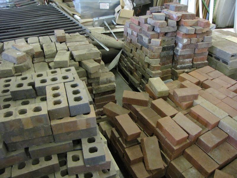 assorted bricks: $0.20 each