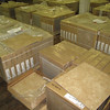 "new 18x18"" ceramic tile: $18 per box (18 sq ft = $1 per sq ft)"