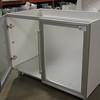 new vanity cabinet: $200