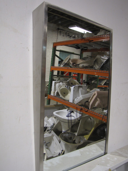 angled wall mirror (several in stock): $60