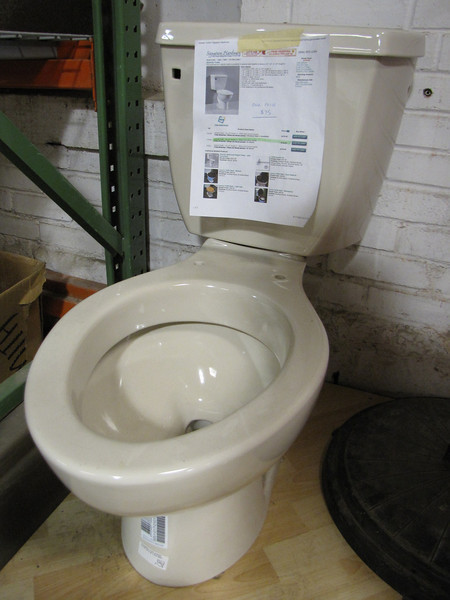 New low-flow toilets (many in stock): $75