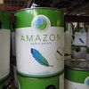 "Amazon recycled content paint: $16/gal, $55 five gallon bucket<br /> <br /> find more info on our blog:  <a href=""http://www.habitatstl.org/newsevents/news/2010/07/23/restore-now-sells-recycled-paint/"">http://www.habitatstl.org/newsevents/news/2010/07/23/restore-now-sells-recycled-paint/</a>"