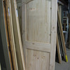 one of many new, unfinished doors: $75