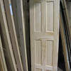 one of many new, unfinished doors: $60