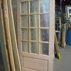 one of many new, unfinished doors: $150