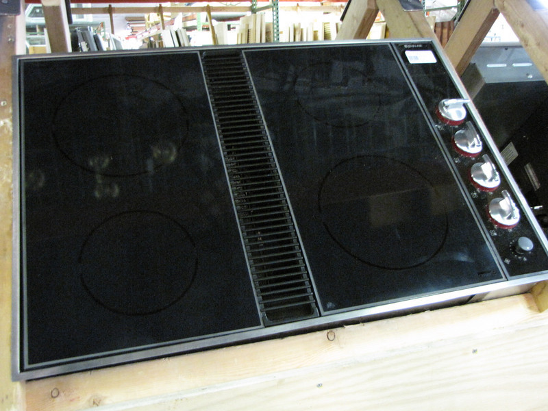 Jenn Air cooktop: $250