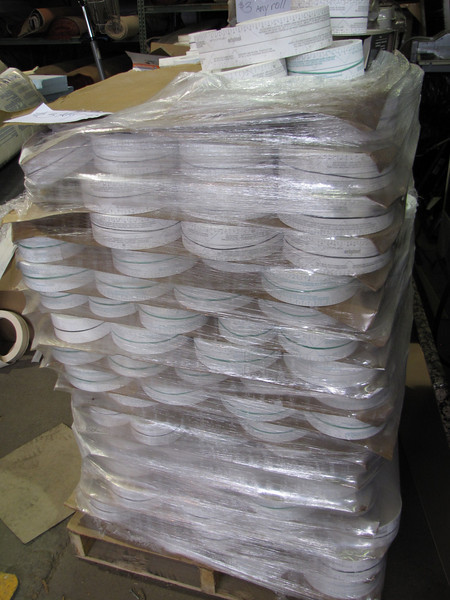 drywall tape: $3 per roll, several skids available