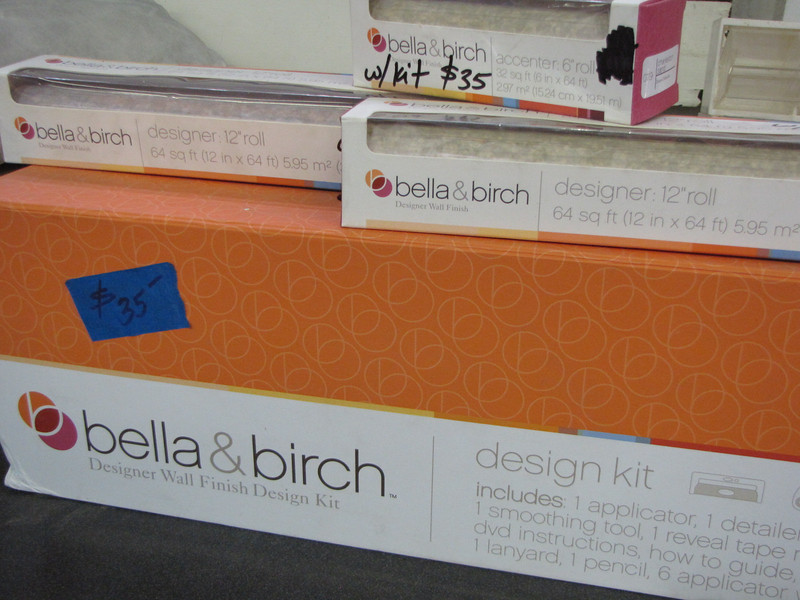 set of bella & birch wall cover: $35
