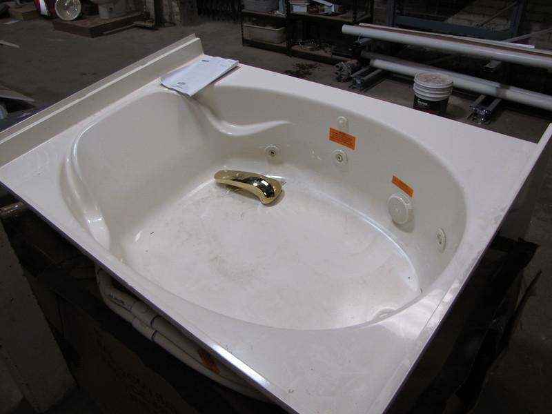 new jet tub: $500