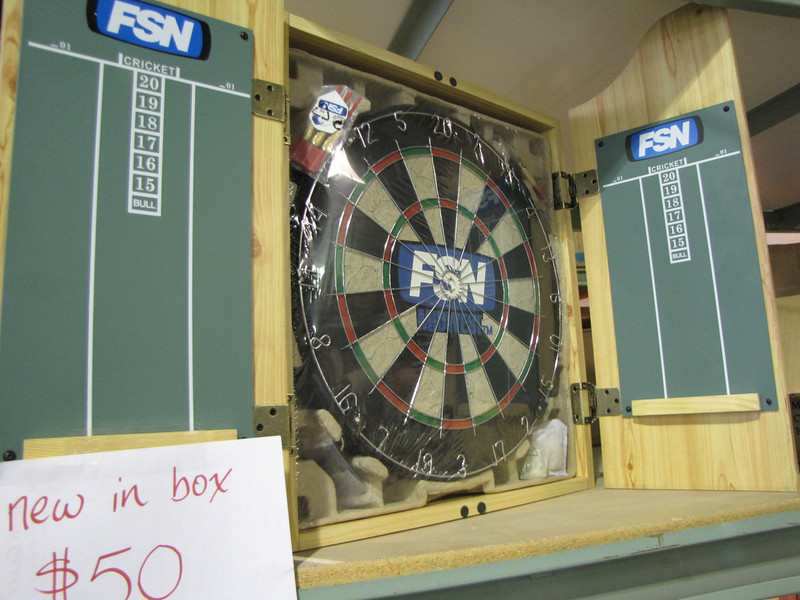 new cork dartboard: $50, several available