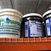 wood flooring and cove base adhesive: $25 per bucket, several available