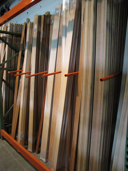 new stain-grade hardwood crown molding: $40-$80 per pack, 40 lin ft