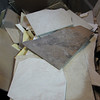 broken tile: FREE (marked bins only)<br /> great for mosaics, garden stepping stones, practice, gag gifts