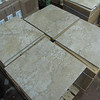 "New tile just arrived today! Four color selections, all $1 per sq ft  (pictured 18""x18"", 8 pieces per box, $18 per box)"