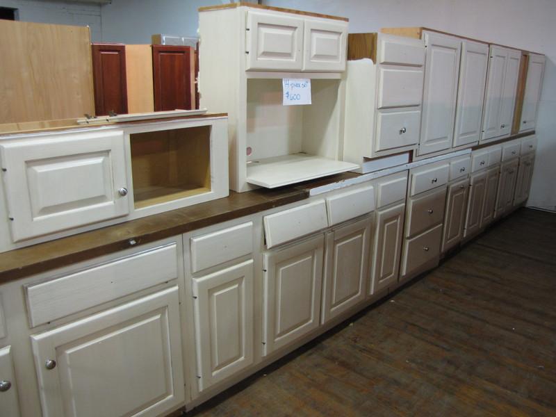 14 piece cabinet set: $600
