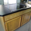 electric cooktop island: $250