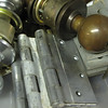 hinges from $0.50 each and knobs from $2 each