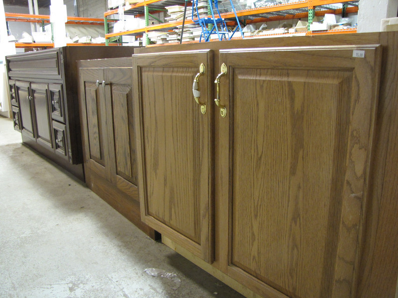 variety of vanity cabinets from $10