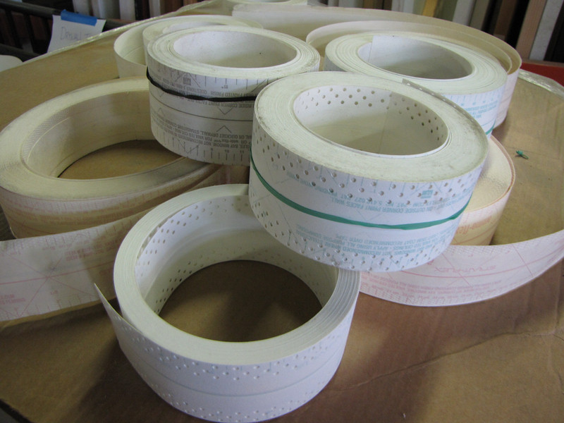 drywall tape $1 per roll (several pallets available)
