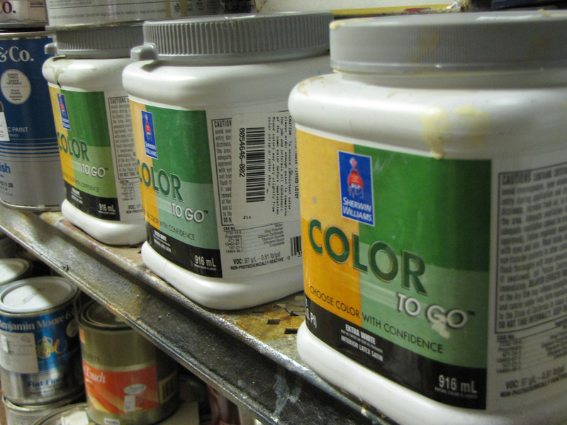 variety of paint from $2 per quart and $5 per gallon
