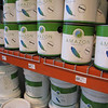 Amazaon Select recycled content paint, 12 colors available: $16-17 per gallon, $55-56 per 5gal bucket