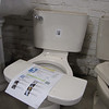 New Vitra 1.6 gpf toilets (many in stock)- light and dark bone colored. $85