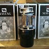 BRAND NEW IN BOX!<br /> <br /> Maytag Black Food Waste Disposer<br /> This batch feed food waste disposer is for kitchens without a disposer wall switch: it activates only when the auto-start lid is in place. Features a 3/4-HP split-phase induction motor that runs quietly and has fewer moving parts for a longer, more reliable life.<br /> <br /> OUR PRICE: $200!