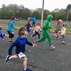 The Dewey Dash was a fun run for children held before the Reader Run 5K. Photo by Mary Leach
