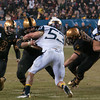Photo courtesy of DON TOOTHAKER/toothakerphoto.com Cadets quarterback Trent Seelman runs the ball on Saturday in Philadelphia during the Army v. Navy football game held at Lincoln Financial Field.  Army fell for the 11th straight year to Navy, 17-13.