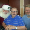Recently Santa Claus visited with many Autumn Woods Health Campus' residents, David J and his son Mark.<br /> <br /> Photographer's Name: Bobbie Jo  Adams<br /> Photographer's City and State: New Albany, IN