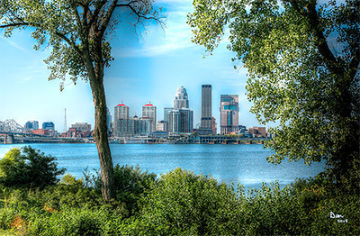 Louisville, Ky Skyline<br /> <br /> Photographer's Name: Mike Dean<br /> Photographer's City and State: Clarksville, IN