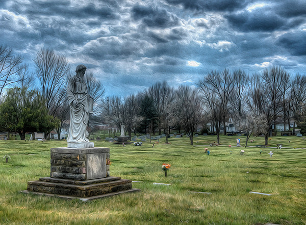 Graceland Cemetery, New Albany, IN<br /> <br /> Photographer's Name: Mike Dean<br /> Photographer's City and State: Clarksville, IN